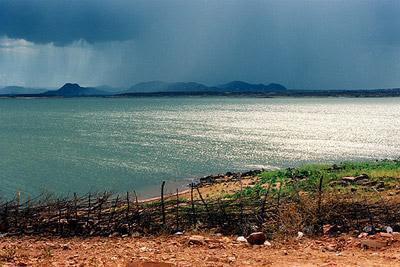 Resultado de imagem para barragem armando ribeiro 2017