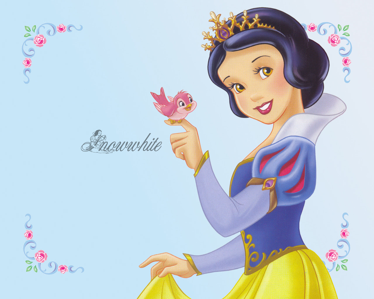 Princess Snow White Disney Princesas Wallpaper