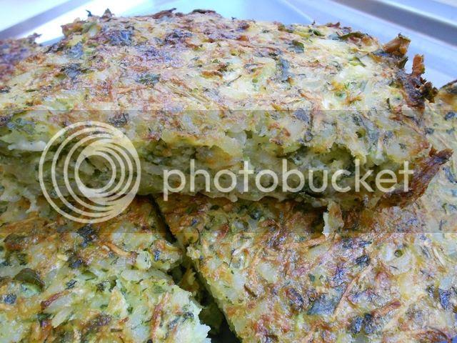 zucchini rice cake