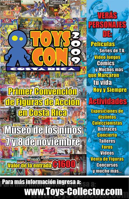 Afiche de ToysCon 2009