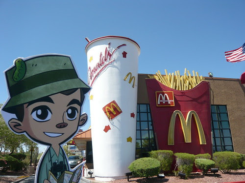 Wow, is that a giant Diet Coke behind Frankie Pickle? 7/13/11