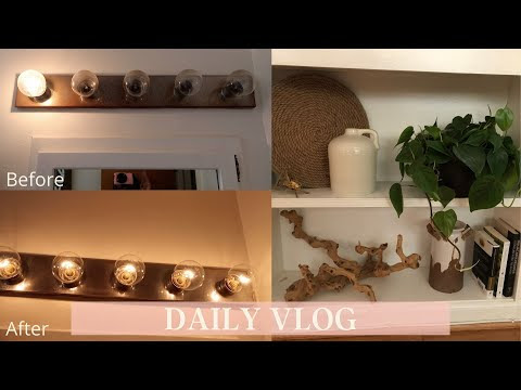 Walmart Plant Haul | Getting New Couch | Removing Rust from Bathroom Van...