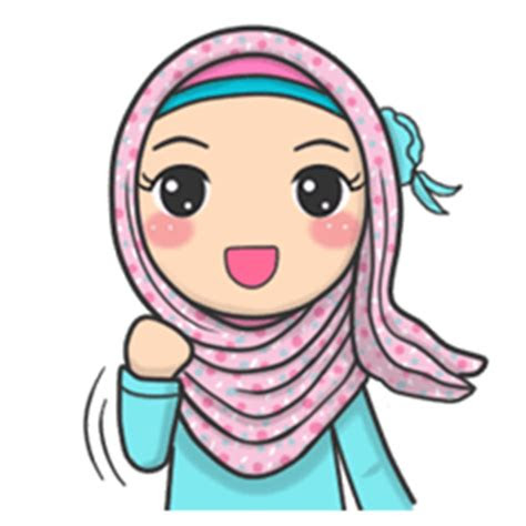 flower hijab daily talk creators stickers
