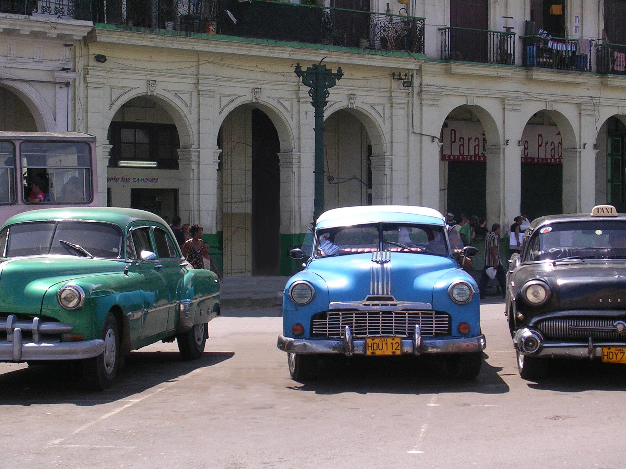 Cuban Cars in Havana by