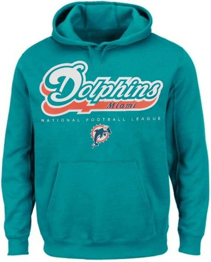 Miami Dolphins NFL Apparel Critical Victory Pullover Hoodie Big  Tall Sizes  eBay