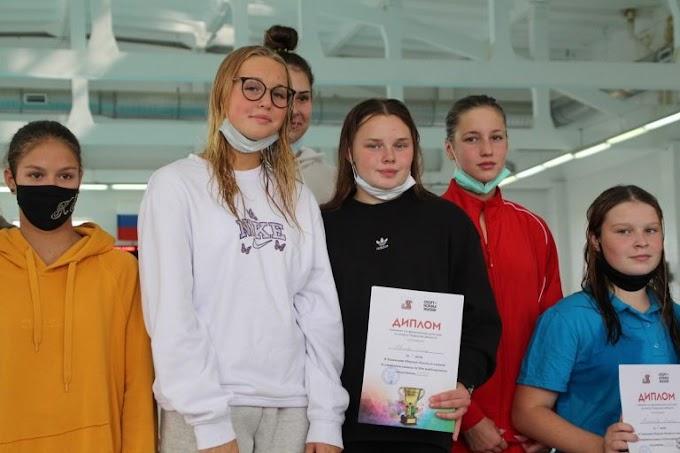 Тверские девушки обновили два рекорда области по плаванию