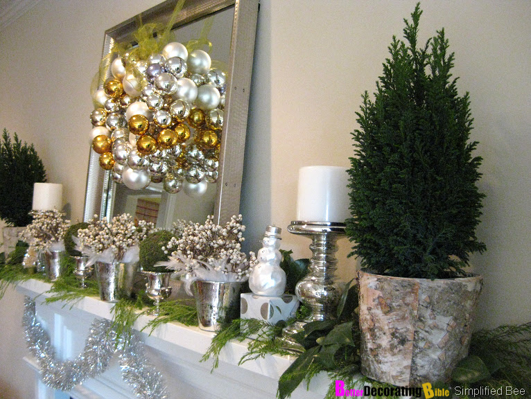 One Response to DIY Friday – Easy Christmas Mantel Decorating