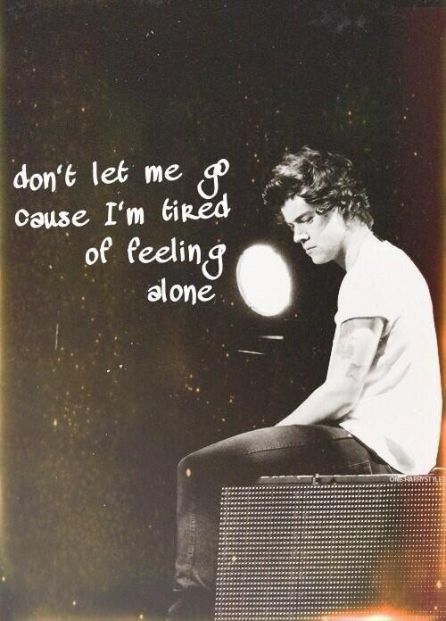 Dont Let Me Go Quote Picture