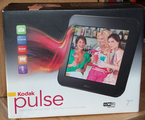 Giveaway Kodak Pulse Digital Frame Closed Mom Of 3 Girls