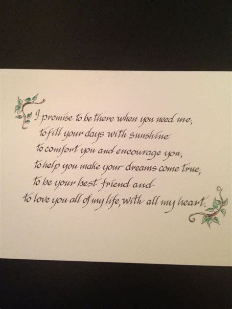 CUSTOM Wedding Vows, Family Prayers, Bible Verses on Paper
