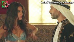 Isabel Valadeiro sensual na novela Valor da vida