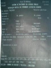 Dans le système informatique du SPVM qui consigne... (Photo La Presse) - image 1.1