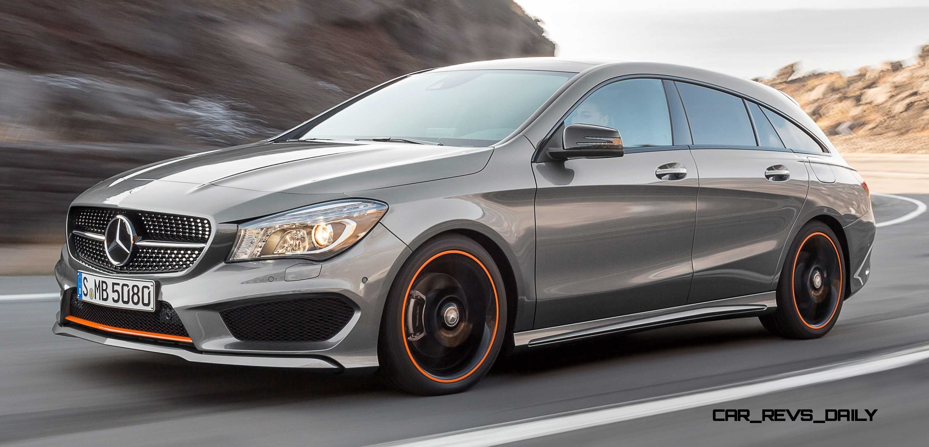 2016 Mercedes-Benz CLA250 Shooting Brake Revealed for Euro ...