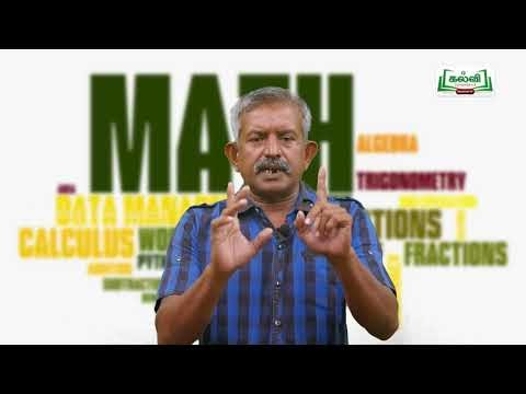 7th Maths தகவல் செயலாக்கம் ஒழுங்கு தொடர் அமைப்பு அலகு 1 Kalvi TV