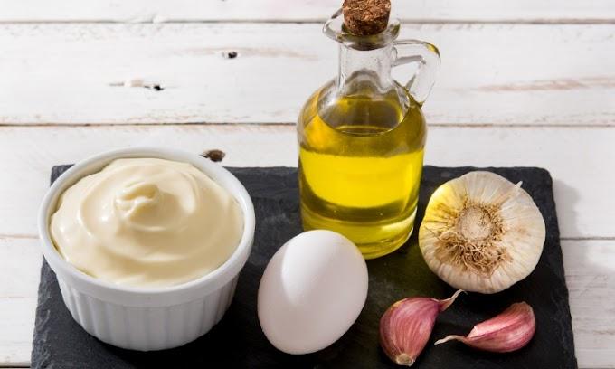 Salsas de ajo y aceite de oliva virgen extra