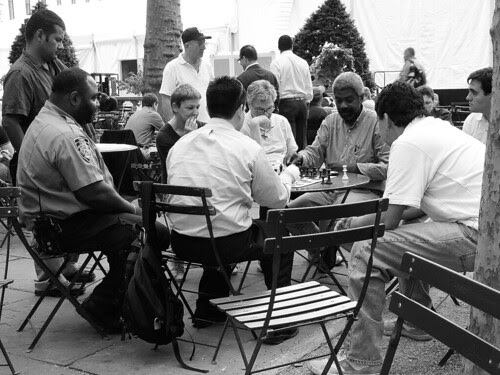 Chess in Bryant Park