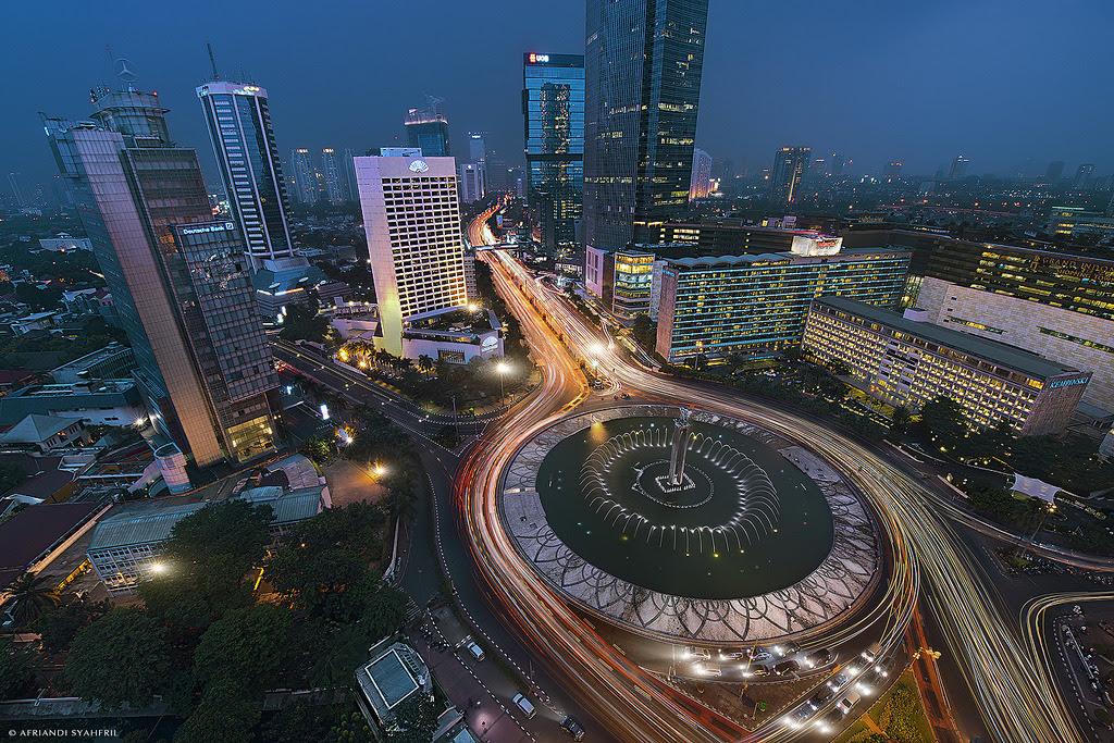 photoset skyline landscape night city city lights urban ...