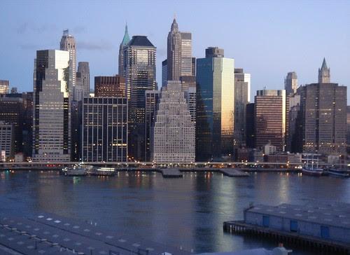 New York at 6 a.m.