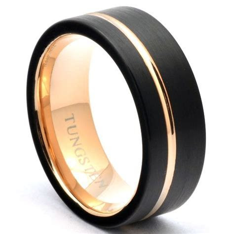 16 Unique and Affordable Men's Tungsten Wedding Bands