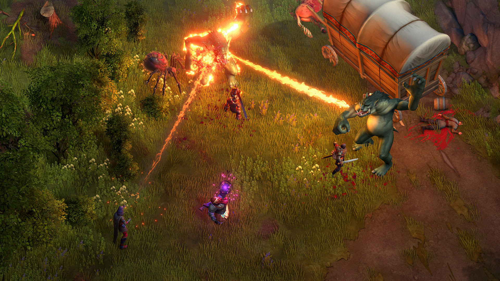 Pathfinder: Kingmaker is a surprisingly faithful adaptation of tabletop RPGs screenshot