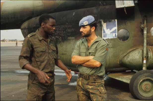 Misiones de Paz y Humanitarias - África - UNAVEM (Angola)