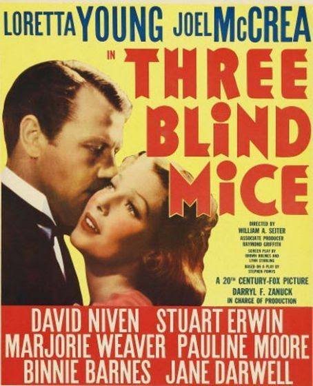 Three Blind Mice 1938 Cast And Crew Trivia Quotes Photos News
