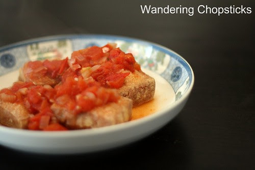 Dau Hu Chien Sot Ca Chua (Vietnamese Fried Tofu with Tomato Sauce) 2