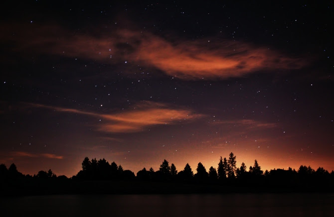 Pretty Night Sky 428
