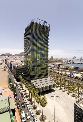 Plaza y Torre Woermann, Las Palmas, Islas Canarias, Spain