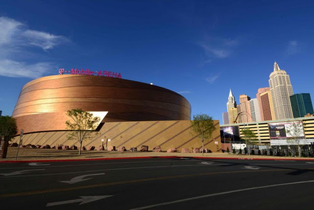 Le T-Mobile Arena de Las Vegas accueillera bientôt... (Photo Kirby Lee, USA TODAY Sports)