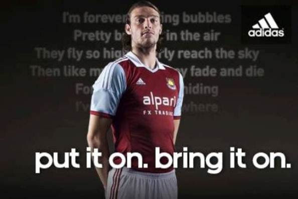 West Ham New Kit 2013/14- Hammers unveil new Adidas home shirt