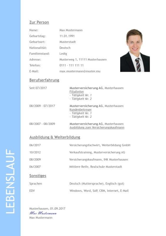 Applying In Germany Bewerbung Anschreiben Lebenslauf