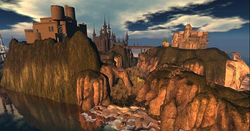 Skye Castles Neist Point Ocean by Kara 2
