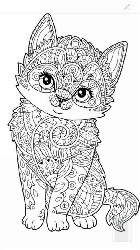 mandala coloring pages  animals printable coloring