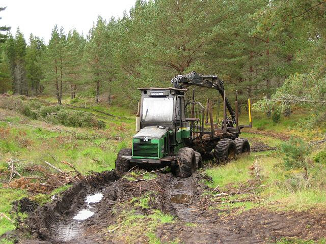 File:Tractor in the mud - geograph.org.uk - 578481.jpg