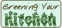 Greening Your Kitchen logo by Eve Fox