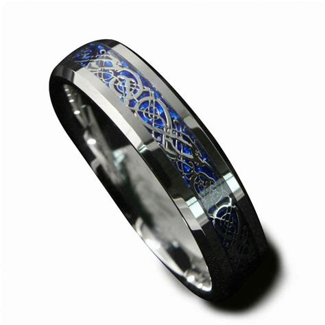 dropshopping mmmm irish claddagh celtic dragon tungsten