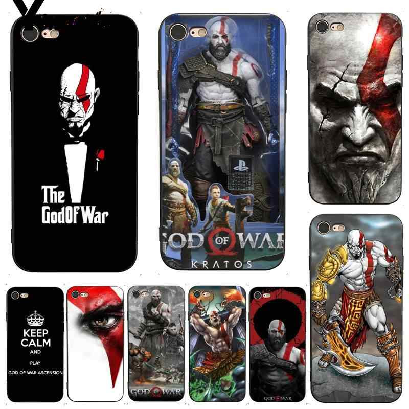 Yinuoda For Iphone 7 6 X Case Kratos God Of War 4