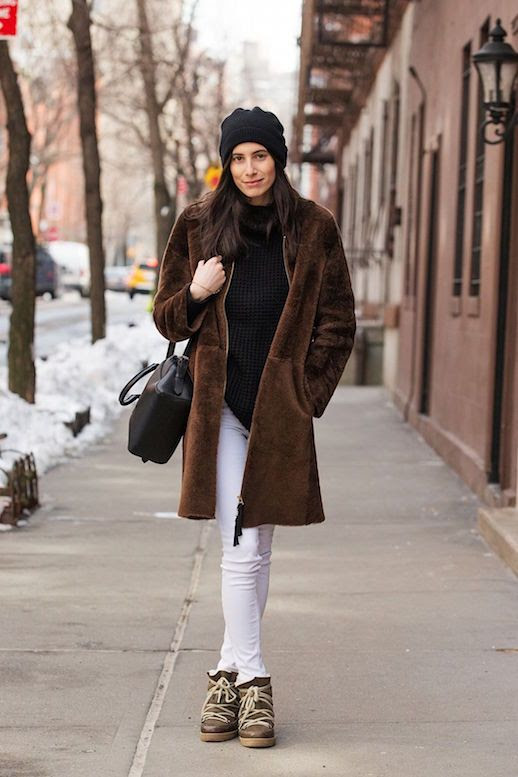 Le Fashion Blog 10 Teddy Bear Coats To Buy Now Via Refinery29