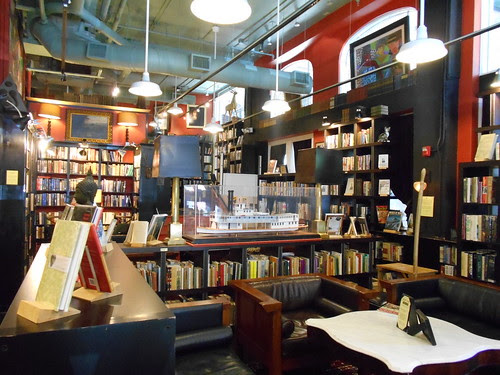 Grove Arcade bookstore