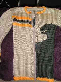 T's sweater front