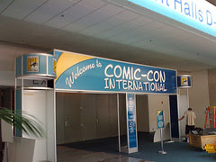 Yes, I am at Comic-con before you.