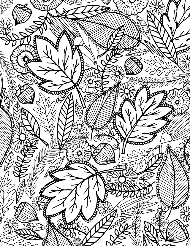 6300 Top Coloring Pages Fall Pdf  Images
