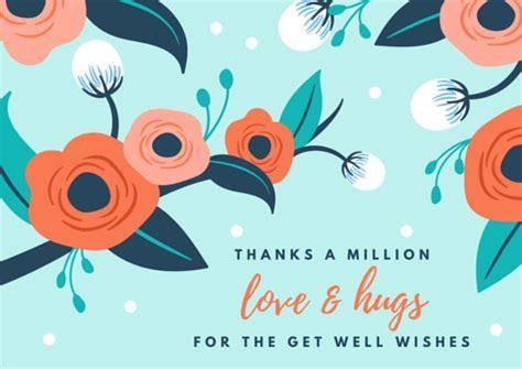 Get Well Soon Thank You Card Printables   FREE Resource!