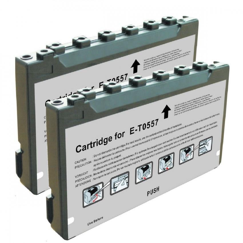 Epson T557 T5570 T557l 2 Pack