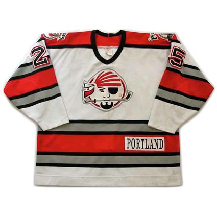 Portland Pirates 93-94 jersey