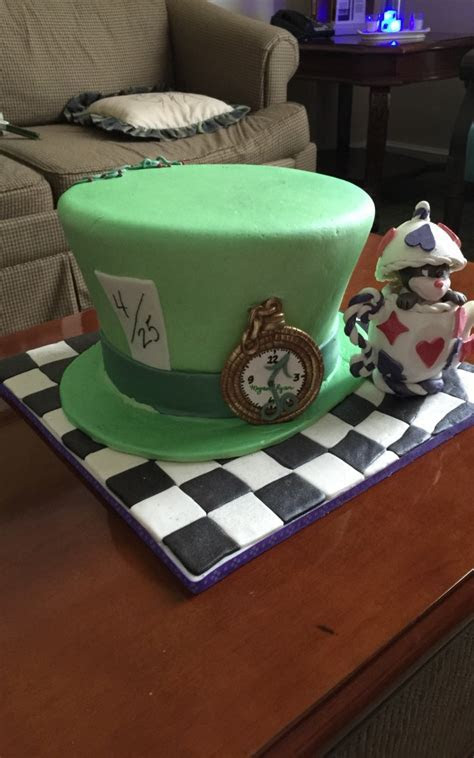 New cake   Specialty Mad Hatter Cake Lakeland   Oh 4
