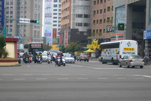 台中港路/英才路口