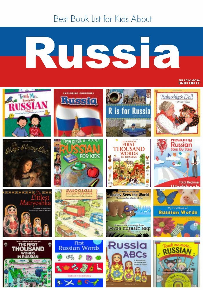 Collection of Book Covers relating to Russian language and culture
