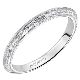 artcarved imani knife edge engraved wedding band